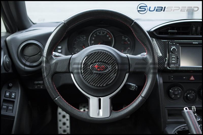 GCS Carbon Fiber Steering Wheel Overlay