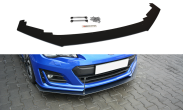 Maxton Design Gloss Black Racing Front Splitter V1 - 2017+ BRZ