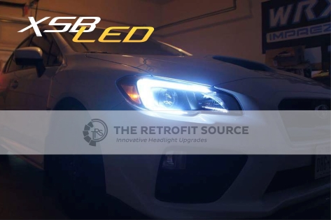 Profile Pivot Switchback LED C-light DRLs for Headlights - 2015+ WRX / 2015+ STI