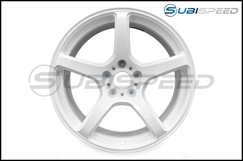 Work Wheels Emotion T5R Ice White 18x9.5 +38 - 2015+ WRX / 2015+ STI