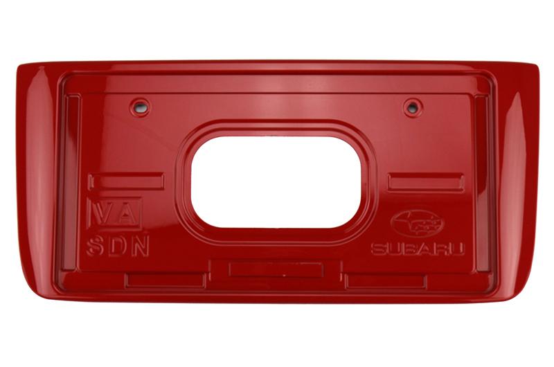 Subaru OEM Paint Matched JDM Rear License Plate Holder