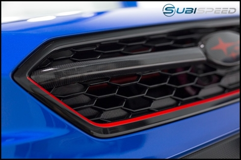 ChargeSpeed Carbon Fiber Grille Finisher - 2018+ WRX / 2018+ STI