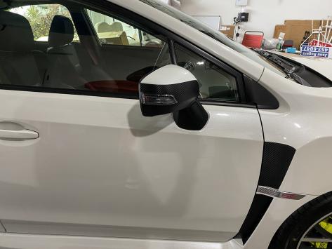 Sticker Fab 3D Carbon Turn Signal Mirror Cover Protector - 2015-2020 WRX / 2015-2020 STI