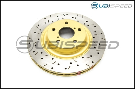 DBA Drilled and Slotted T3 Rotors - 2013+ FR-S / BRZ