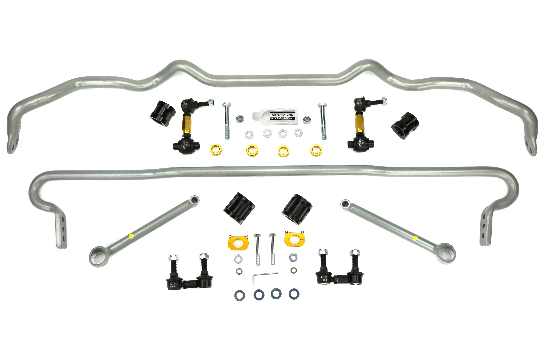 Whiteline Front and Rear Sway Bar Kit w/Endlinks