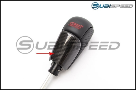 OLM LE Dry Carbon Fiber CVT Shift Knob Trim Cover
