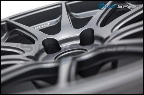 Titan 7 T-R10 Satin Titanium 18x9.5 +40 - 2013+ FR-S / BRZ / 86 / 2014+ Forester