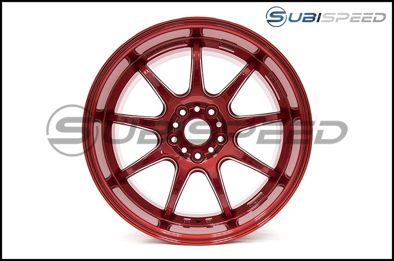 Work Emotion D9R 18x9.5 +38mm Candy Apple Red