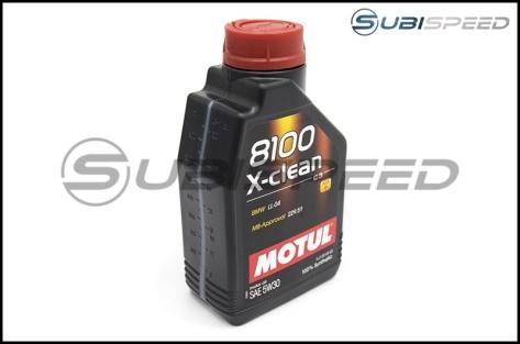 MOTUL 8100 X-Clean 5W30 Full Synthetic Motor Oil (1.05 Quarts) - Universal