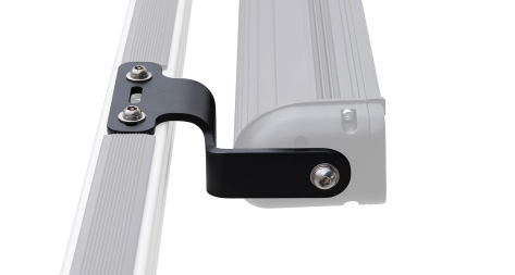 Rhino-Rack Vortex and Heavy Duty Crossbar LED Light Bar Brackets