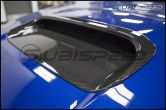 OLM LE Dry Carbon Fiber Hood Scoop Cover - 2015+ WRX / 2015+ STI