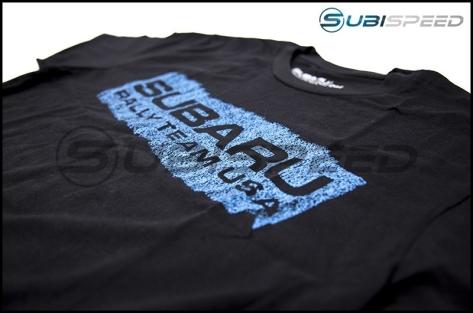Subaru Mens Spray Black Tee