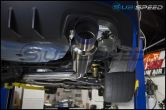 Invidia N1 Resonated Single Exit Exhaust (Polished or Titanium Tip) - 2015+ WRX / 2015+ STI