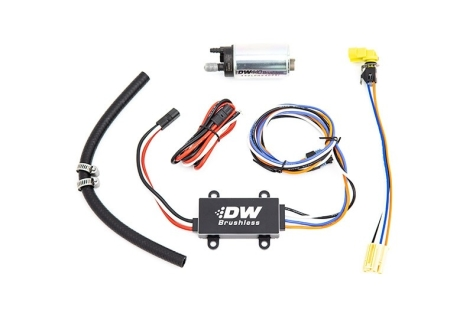 DeatschWerks DW440 440lph Brushless Fuel Pump with Single Speed Controller