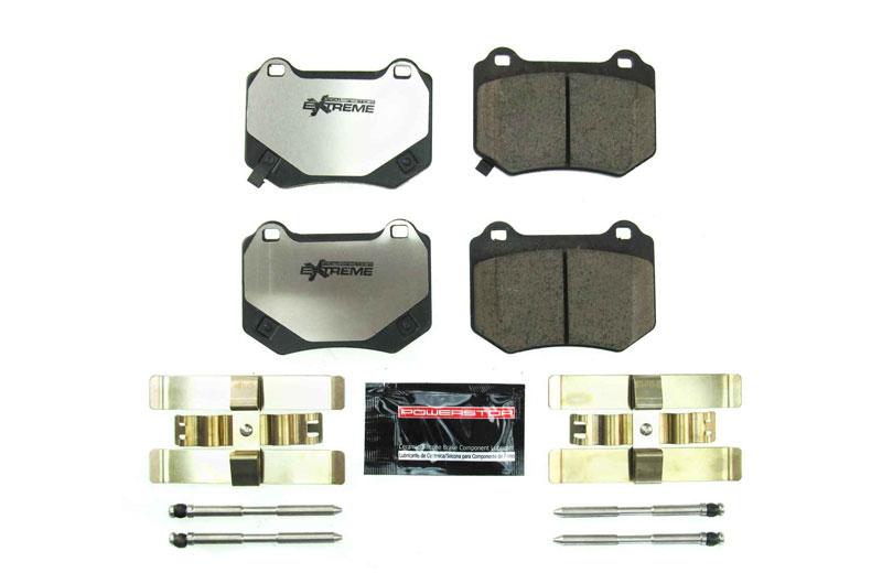Power Stop Z26 Street Performance Carbon Fiber Ceramic Compound Brake Pads