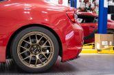 OLM Paint Matched/Gloss Black Rear Bumper Lip - 2013-2016 Scion FR-S / 2013-2021 Subaru BRZ
