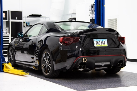 OLM Paint Matched Leg Style Spoiler - 2013+ FR-S / BRZ / 86