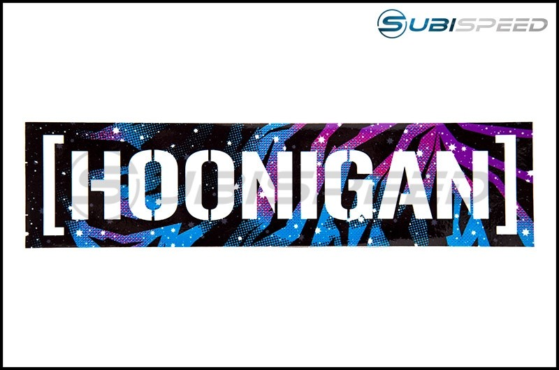 HOONIGAN Galaxy Censor Bar Sticker, Black 10