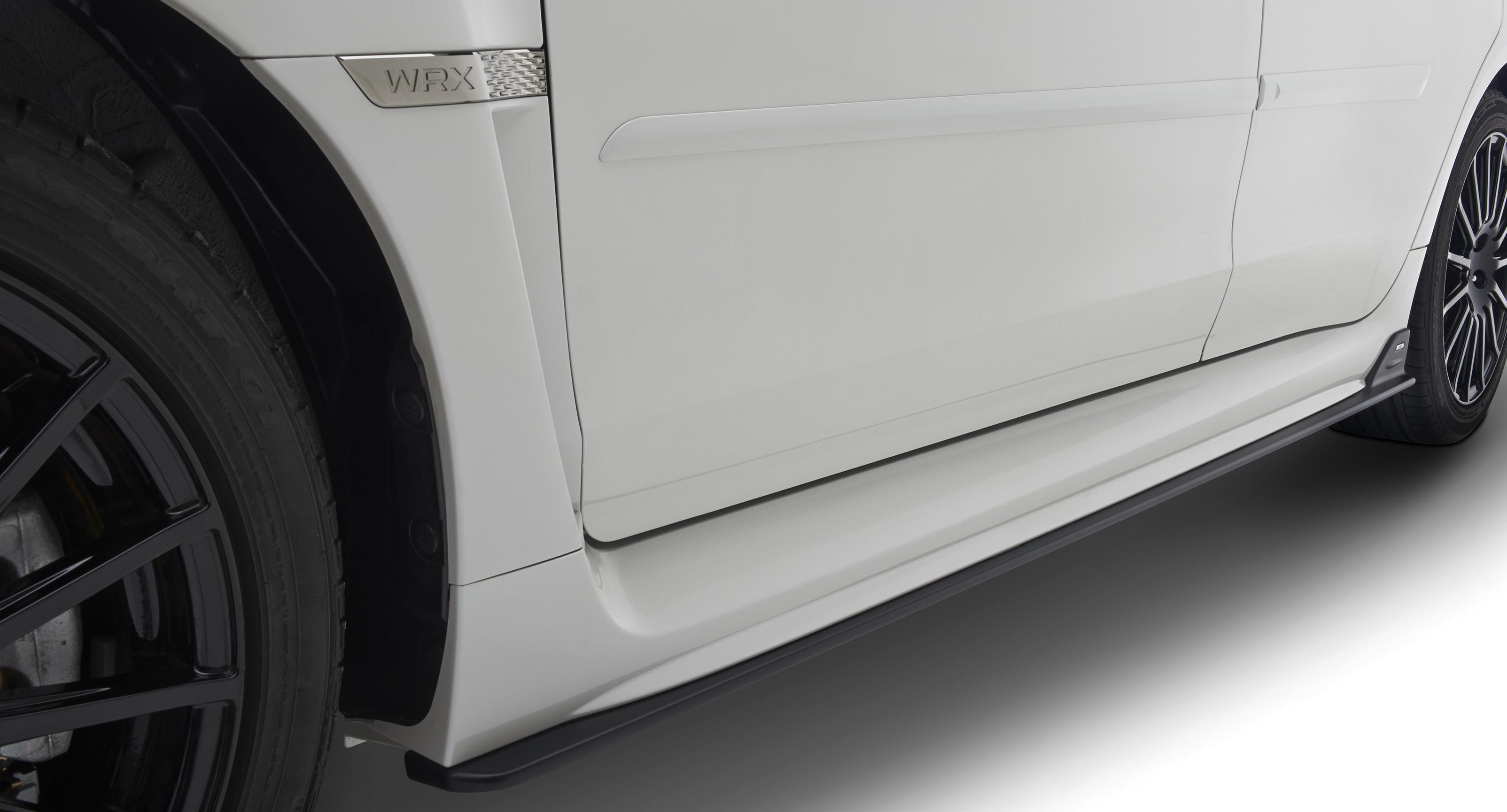Subaru OEM STI Side Skirts