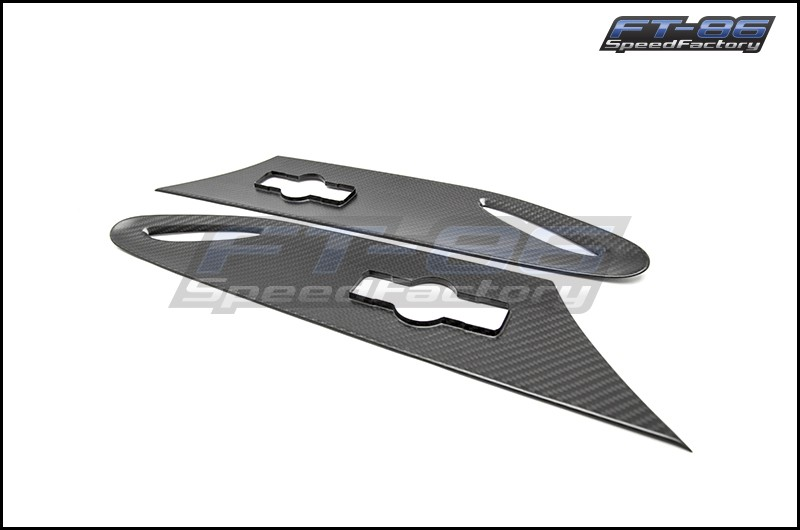 OLM S-line Dry Carbon Fender Inserts