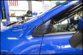 3D Carbon Fiber Quarter Window Trim Overlay - 2015+ WRX / 2015+ STI