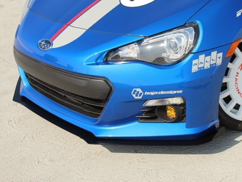 Rally Innovations 3-Piece Front Splitter - 2013+ BRZ / 2013-2016 FR-S