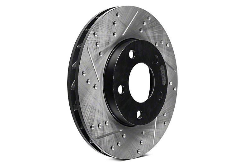 Stoptech Slotted/Drilled Rotor - Front Left