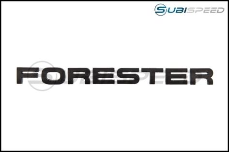 GCS Forester Trunk Emblem - 2014+ Forester