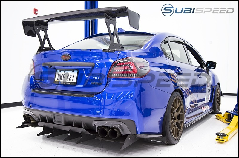OLM LE Dry Carbon Fiber Rear Bumper Protector by Axis