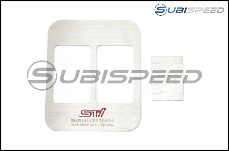 JDM Station STI Style 2 Seat Heater Cover