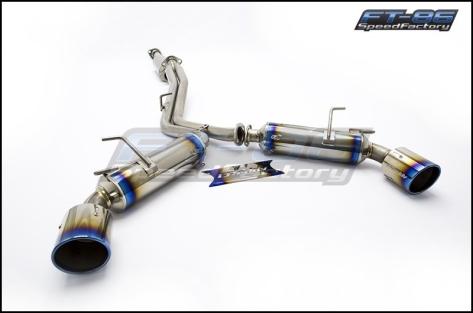 Greddy Titanium Super Street Titan Catback Exhaust - 2013+ FR-S / BRZ