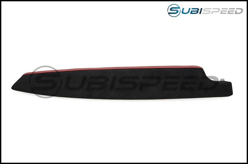 Subaru BRZ tS JDM Red Leatherette and Black Alcantara Arm Rests