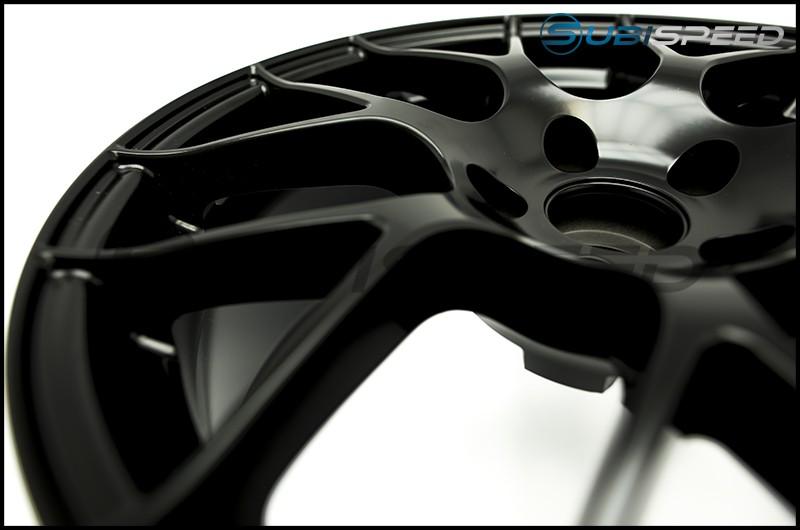 Enkei Raijin Black Wheels 18x8.5 +38mm - 2015+ WRX / 2015+ STI