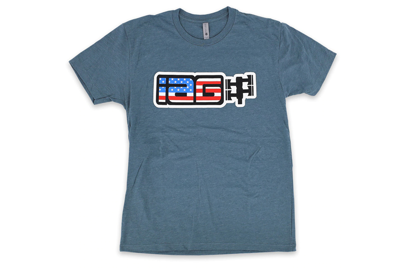 IAG Performance IAG USA Boxer Logo T-Shirt - Indigo