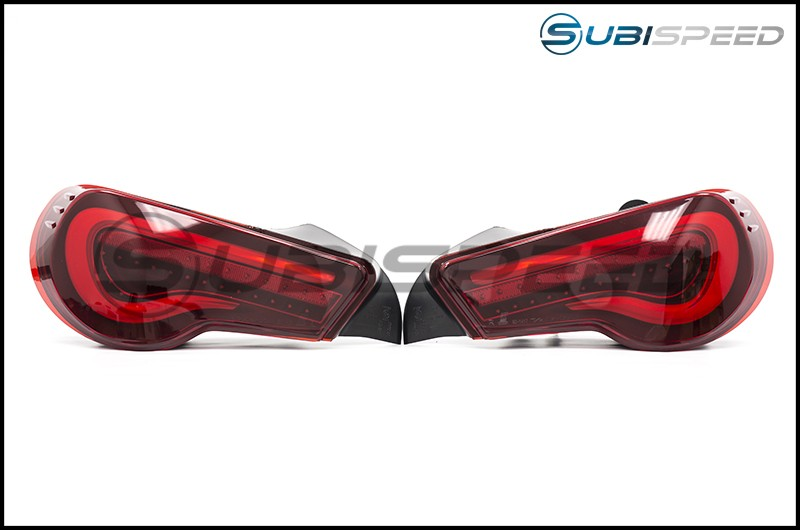 OLM VL Style / Helix Sequential Red Lens Tail Lights (Red Edition)