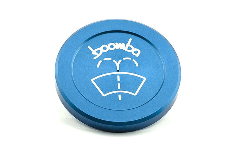 Boomba Racing Windshield Washer Cap Blue Subaru WRX 2015+