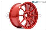 Volk ZE40 Red 18x9.5 +43 - 2013+ FR-S / BRZ / 86 / 2014+ Forester