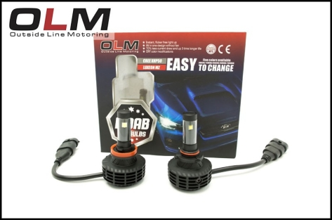 OLM MOAB Multicolor LED Low Beam Light Bulb - 2015+ WRX / 2014+ Forester / 2013+ Crosstrek / 2013+ FR-S
