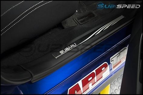 Subaru Silver Etched Door Sills
