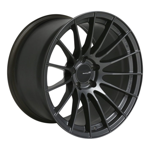 Enkei RS05RR Matte Gunmetal Wheels 18x9 +35mm Flat Face