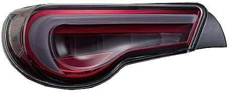 Valenti Jewel LED Tail Light Clear Lens with Red Chrome Inner Housing