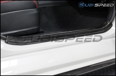 OLM LE Dry Carbon Fiber Door Sill Cover by Axis - 2015+ STI