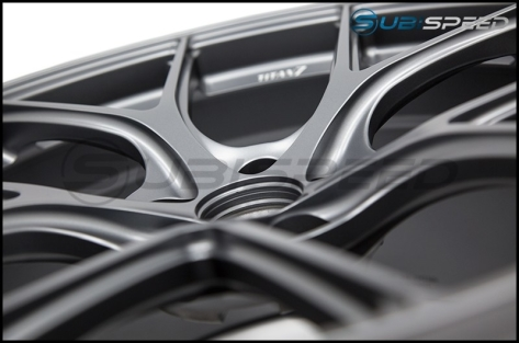 Titan 7 T-S5 Satin Titanium 18x9.5 +40mm - 2015+ WRX / 2015+ STI