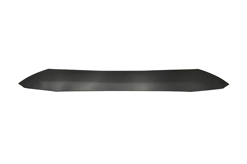 OLM Carbon Wrap Rear Window Roof Visor / Spoiler