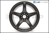 Work Wheels Emotion T5R Matte Graphite 18x9.5 +38 - 2015+ WRX / 2015+ STI