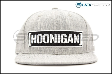 HOONIGAN Censor Bar Snapback Hat Grey / Black / White - Universal