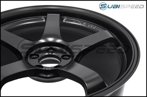 Advan Racing GT 18x9.5 +40 5-100 Semi Gloss Black - 2013+ FR-S / BRZ / 86 / 2014+ Forester