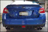 Subaru WRX License Plate Frame in Black - 2015+ WRX