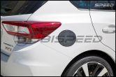OLM S-line Carbon Fiber Fuel Door Cover - 17+ Impreza 5D - 2017+ Impreza 5D