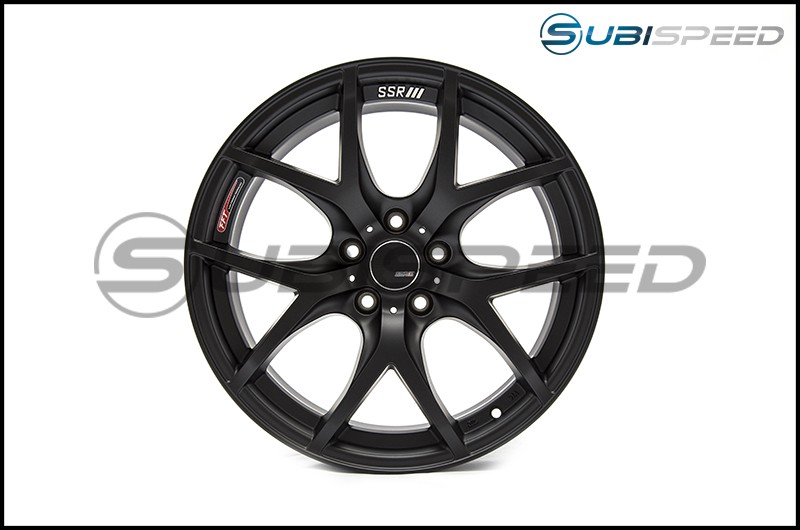 SSR GTV03 Flat Black 18x9.5 +45mm